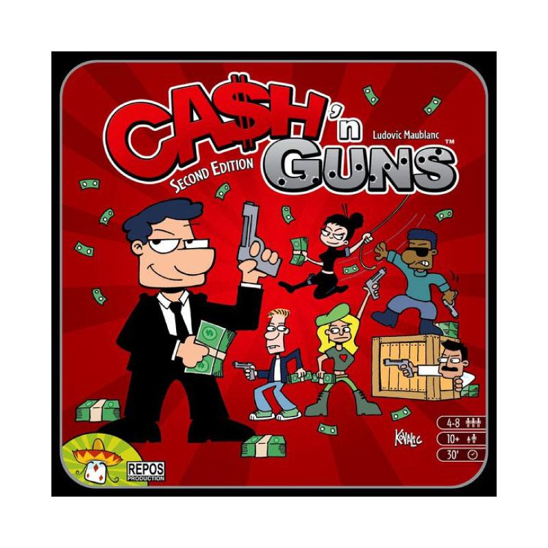 บอร์ดเกม Cash n' Guns (2nd Edition) Board Game