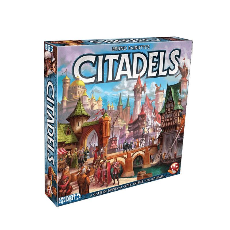 บอร์ดเกม Citadels 2016 Deluxe Board Game
