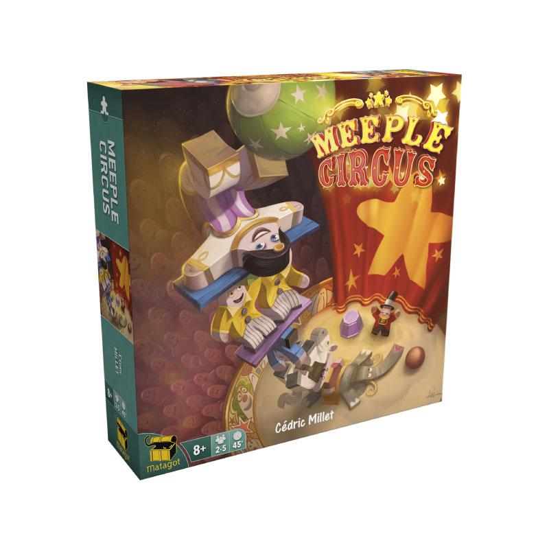 บอร์ดเกม ละครสัตว์หรรษา Meeple Circus Board Game