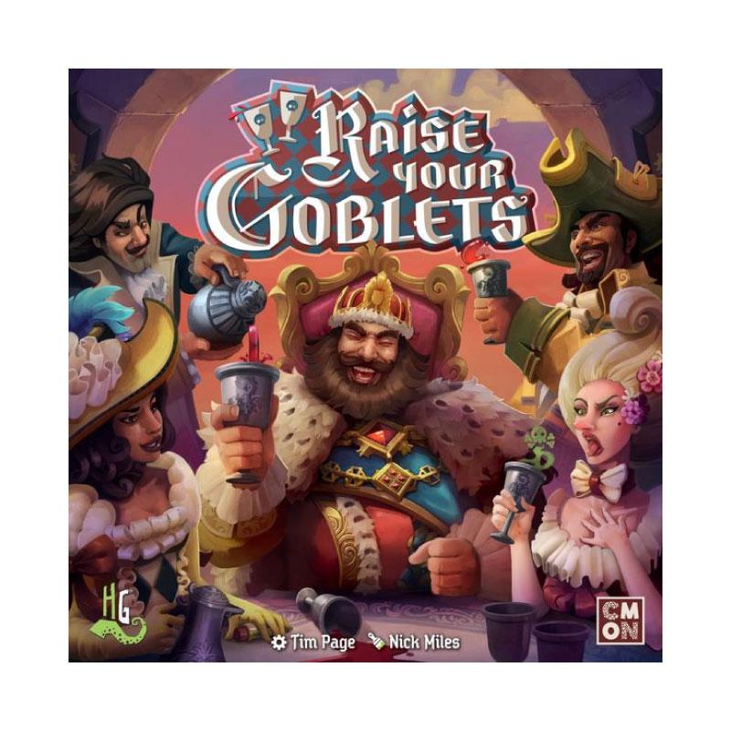 บอร์ดเกม Raise your goblets Board Game