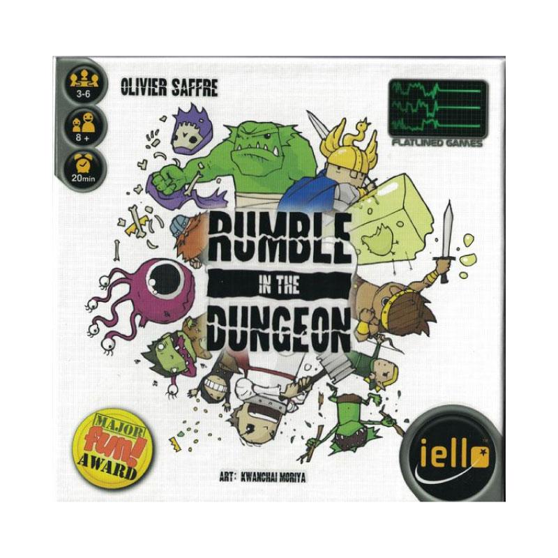 บอร์ดเกม Rumble in the dungeon Board Game