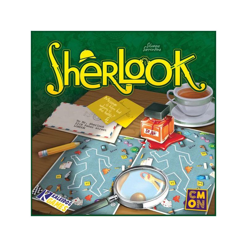 บอร์ดเกม Sherlook Board Game