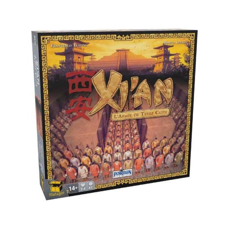 บอร์ดเกม Xi'an Board Game
