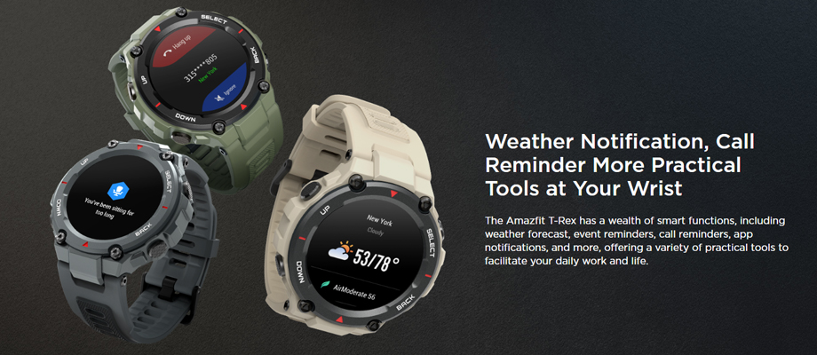 Amazfit T-Rex General Version Smart Watch ดีไหม