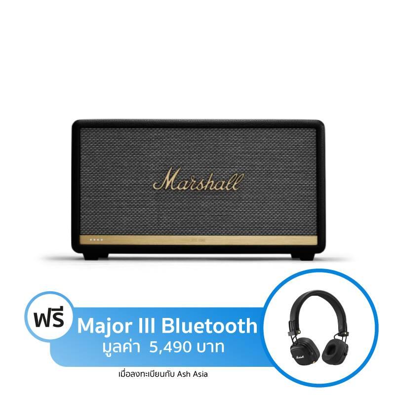 ลำโพง Marshall Stanmore II Voice with Google Assistant Bluetooth Speaker