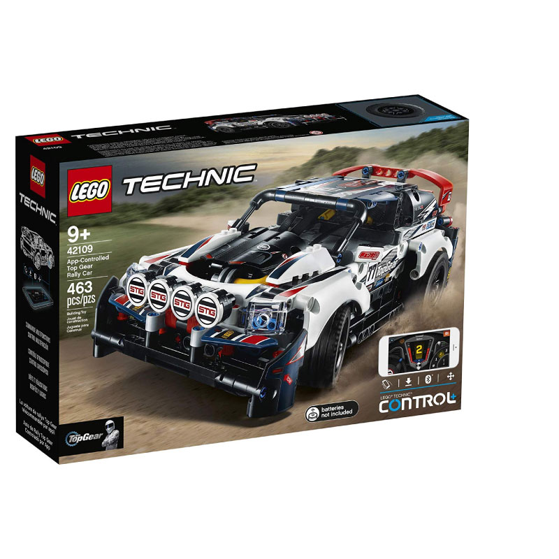 Lego Technic 42109 App-Controlled Top Gear Rally V29
