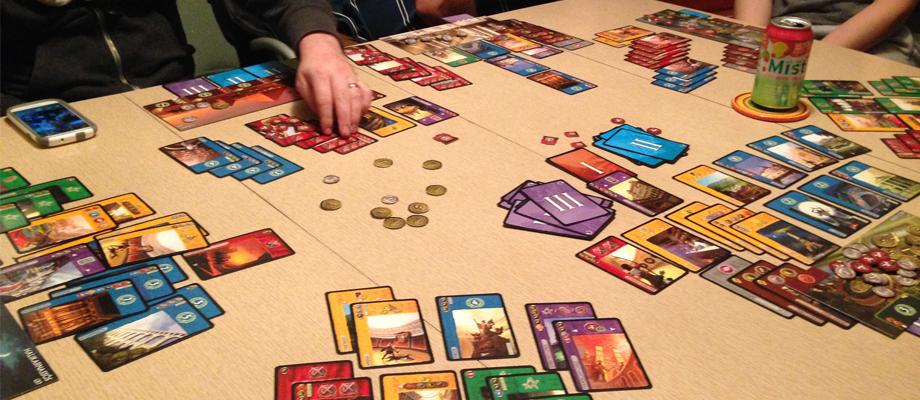 บอร์ดเกม 7 Wonders Board Game ซื้อ-ขาย