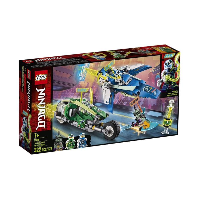 Lego Ninjago 71709 Jay and Lloyd's Velocity Racer V29