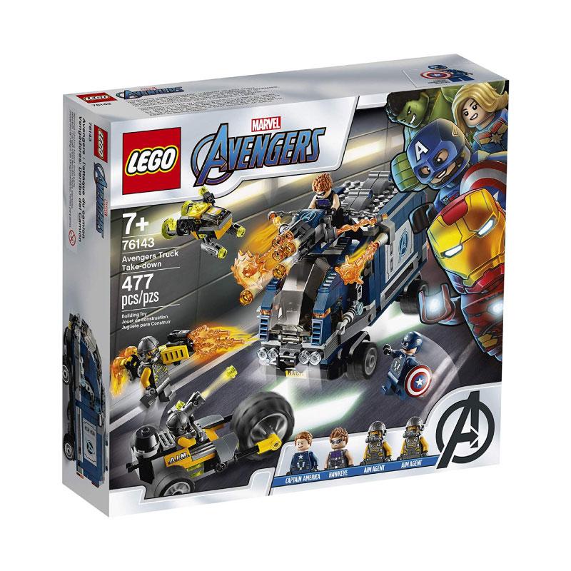 Lego Super Heroes 76143 Avengers Truck Take-down V29