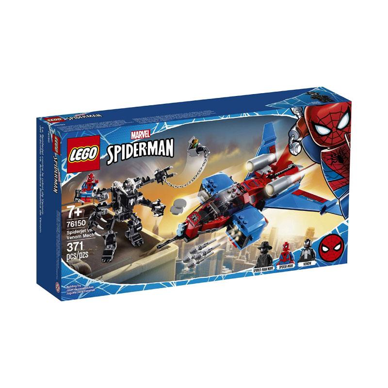 Lego Super Heroes 76150 Spiderjet vs. Venom Mech V29