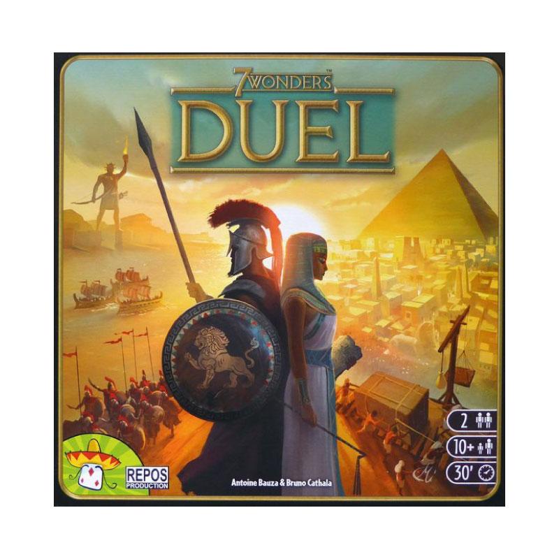 บอร์ดเกม 7 Wonders duel Board Game