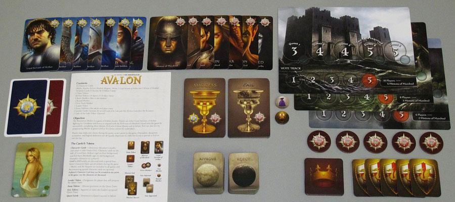 บอร์ดเกม Avalon Board Game วิธีเล่น