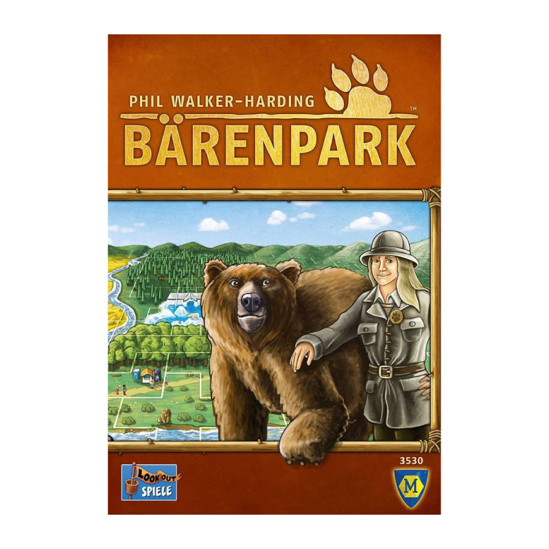 บอร์ดเกม อาณาจักรคนรักหมี Barenpark Board Game