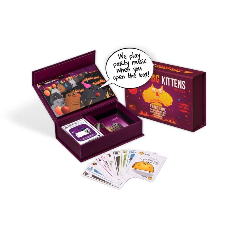 บอร์ดเกม Exploding Kitten Party Pack Board Game