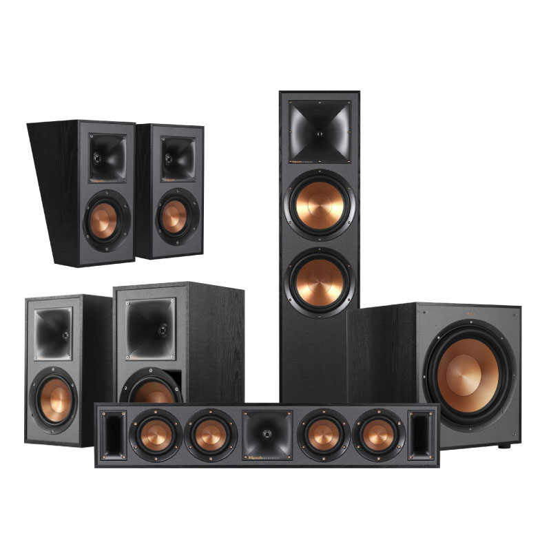 ชุดลำโพง Klipsch Home Theater Dolby Atmos 5.1.2 Set C