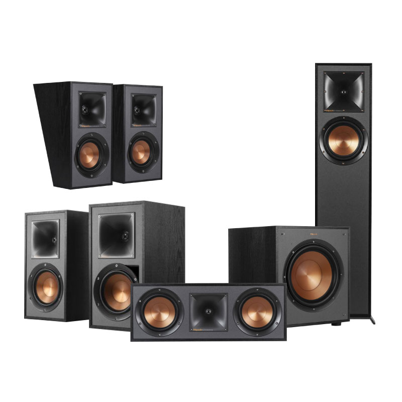 ชุดลำโพง Klipsch Home Theater Dolby Atmos 5.1.2 Set A