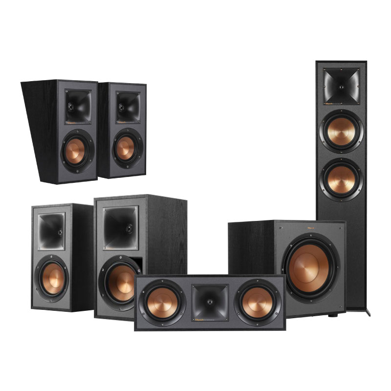 ชุดลำโพง Klipsch Home Theater Dolby Atmos 5.1.2 Set B