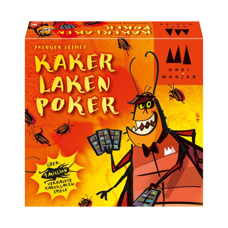 บอร์ดเกม Kakerlaken Poker Board Game