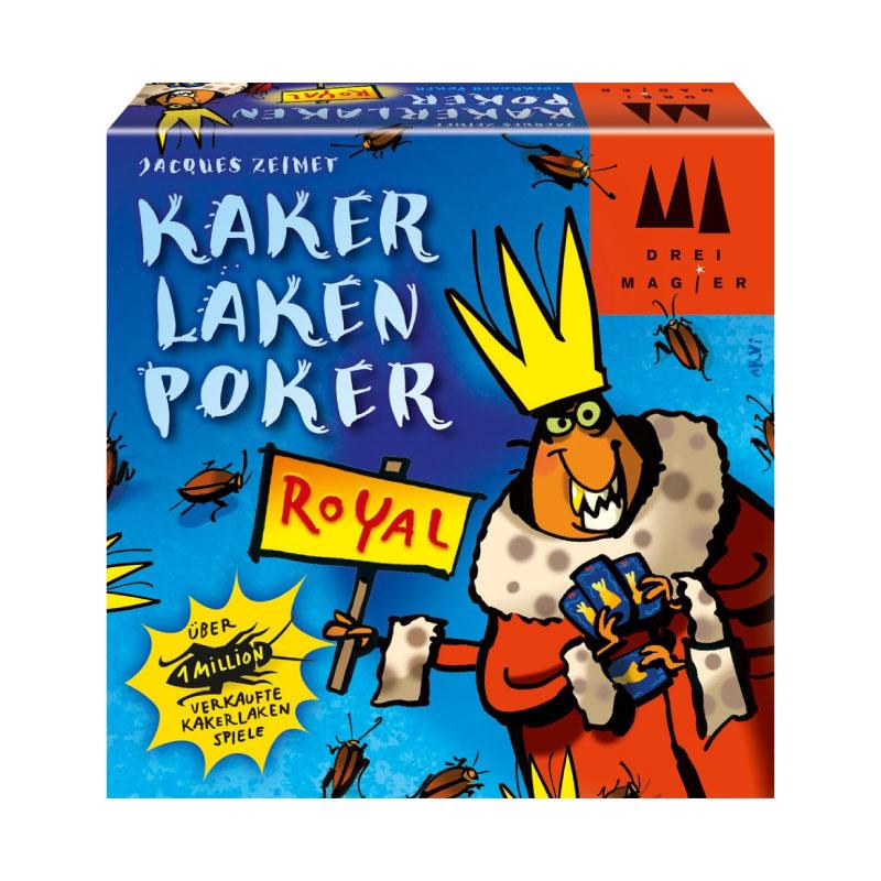 บอร์ดเกม Kakerlaken Poker Royal Board Game