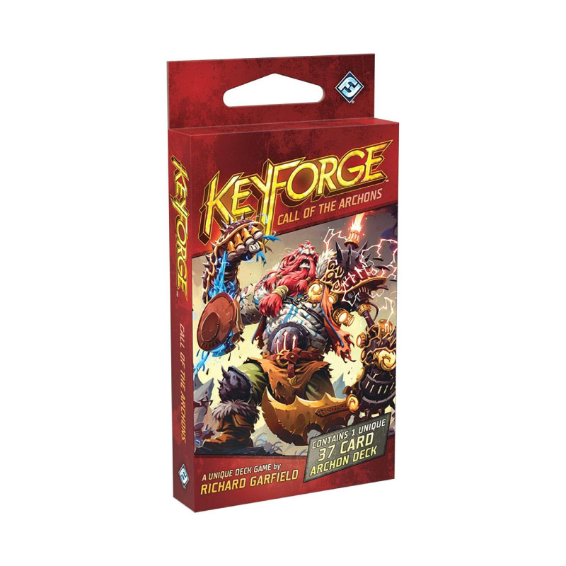 บอร์ดเกม Keyforge Archon Deck Card Pack