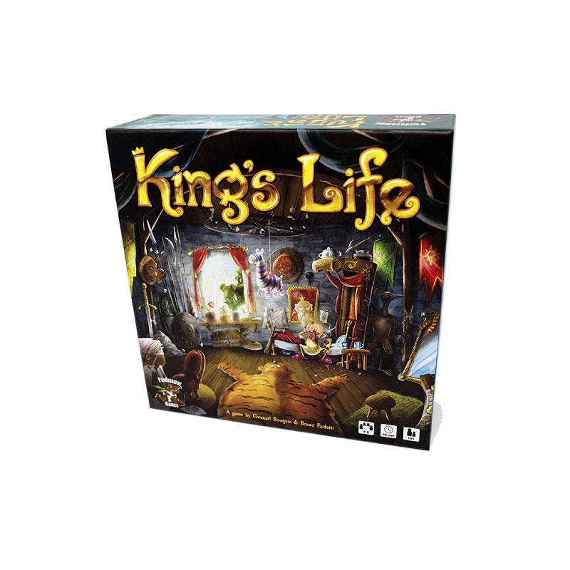 บอร์ดเกม King's life Board Game