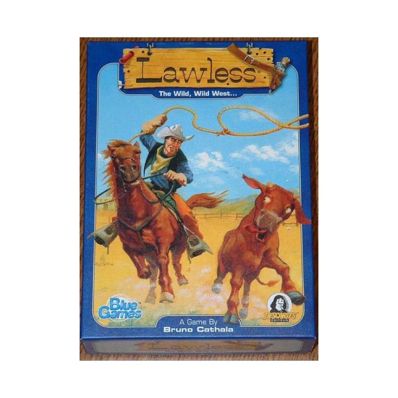 บอร์ดเกม Lawless Board Game