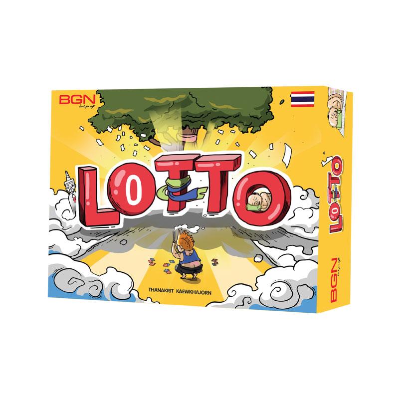 บอร์ดเกม เกมขอหวย Lotto Board Game