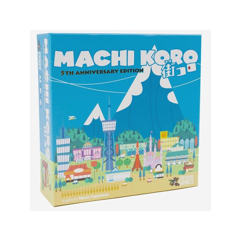 บอร์ดเกม Machi Koro 5th Anniversary Edition Board Game