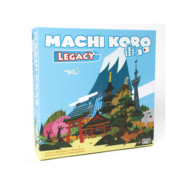บอร์ดเกม Machi Koro Legacy Board Game