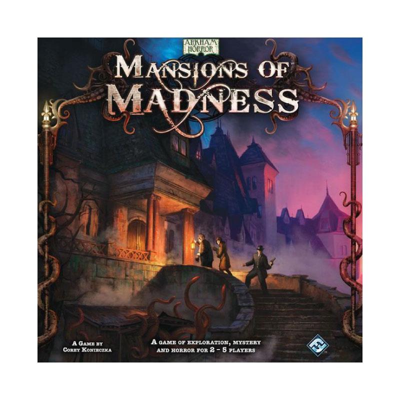 บอร์ดเกม Mansion of madness Board Game