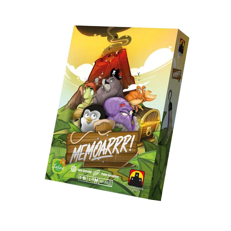 บอร์ดเกม Memoarrr Board Game