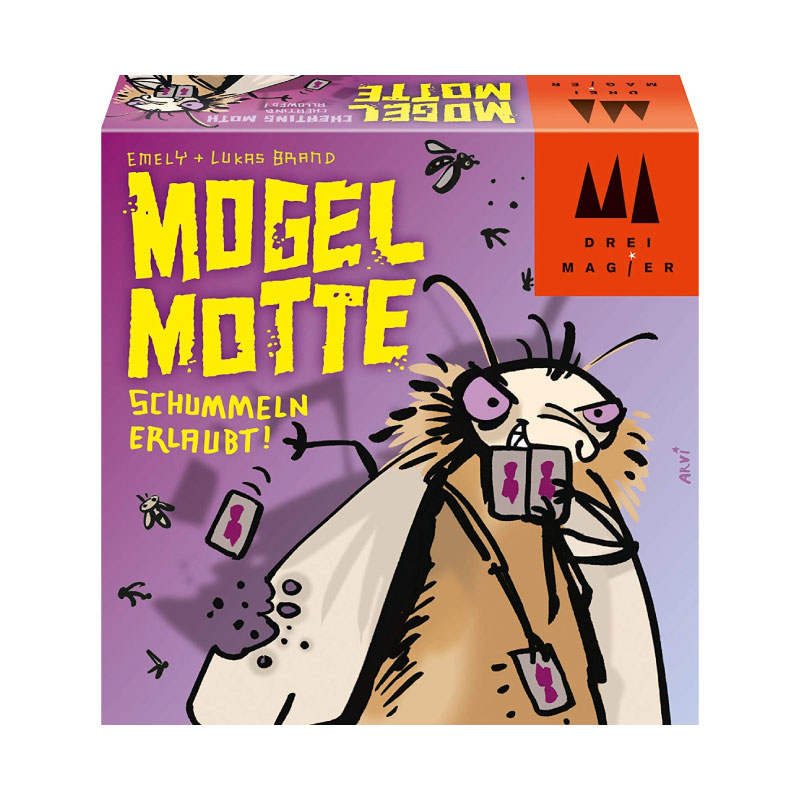 บอร์ดเกม Mogel Motte Board Game