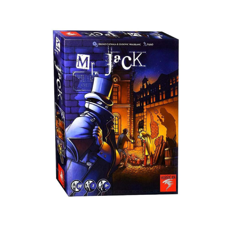 บอร์ดเกม Mr.Jack London revise Board Game