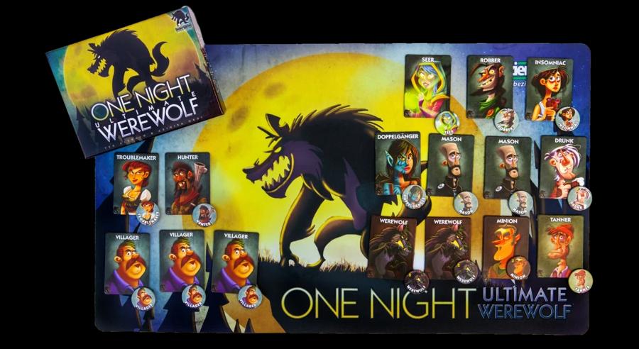 บอร์ดเกม เกมล่ามนุษย์หมาป่า Werewolf Onenight Board Game ซื้อ-ขาย