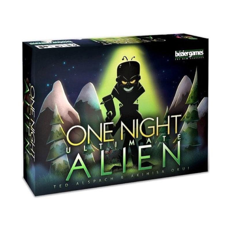 บอร์ดเกม One Night Ultimate Aliens Board Game