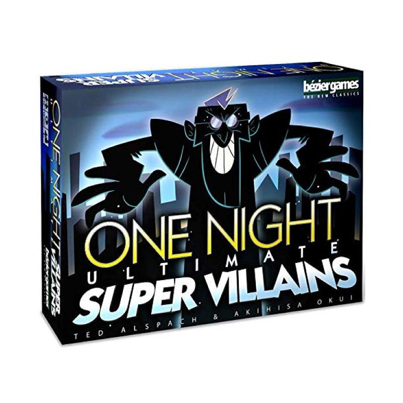บอร์ดเกม One Night Ultimate Super Villains Board Game