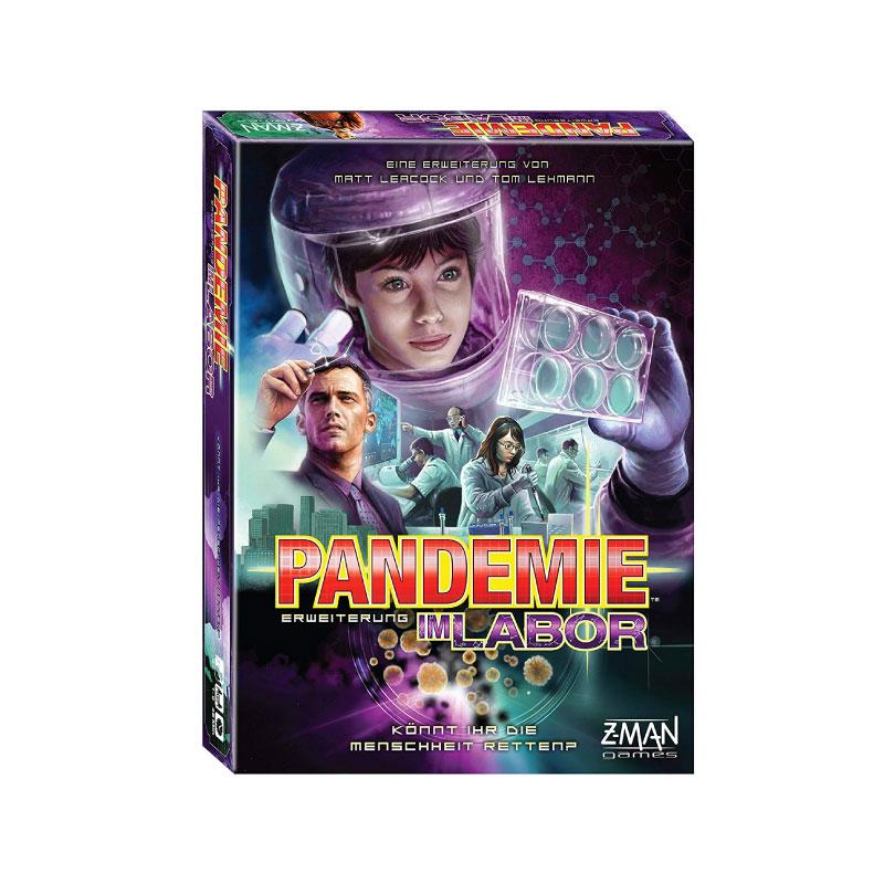 บอร์ดเกม Pandemic In the lab Board Game