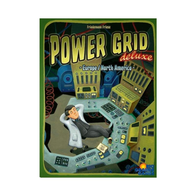 บอร์ดเกม Power Grid Deluxe Board Game