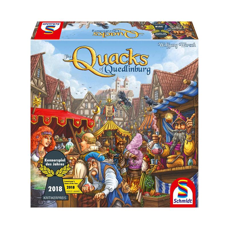 บอร์ดเกม Quacks of Quedlinburg Board Game