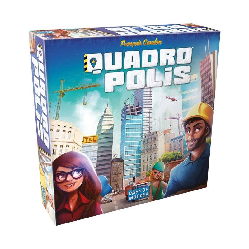 บอร์ดเกม Quadropolis Board Game