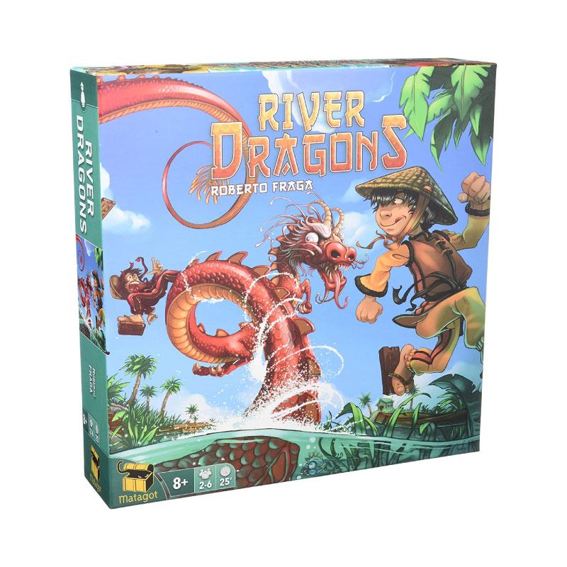 บอร์ดเกม River Dragons Board Game