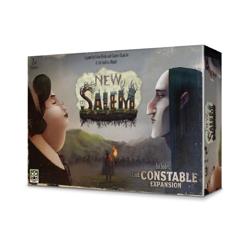 บอร์ดเกม Salem Second Edition Board Game