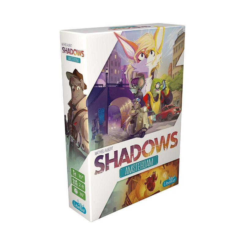 บอร์ดเกม Shadow of Amsterdam Board Game