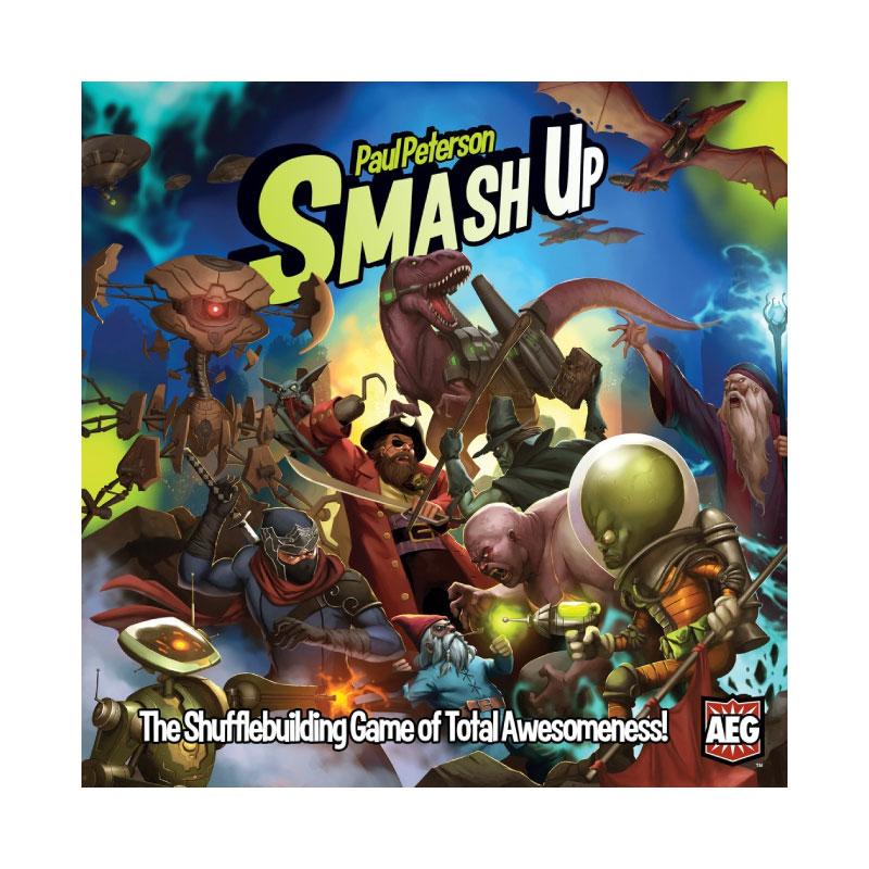 บอร์ดเกม Smash Up Board Game