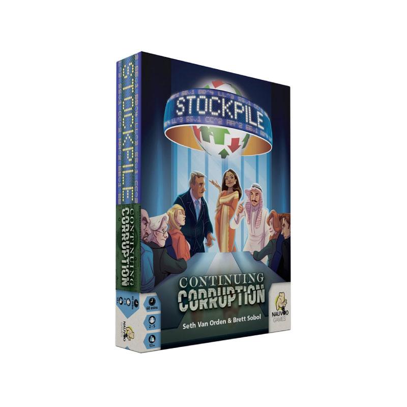 บอร์ดเกม Stockpile Continuing Corruption Board Game