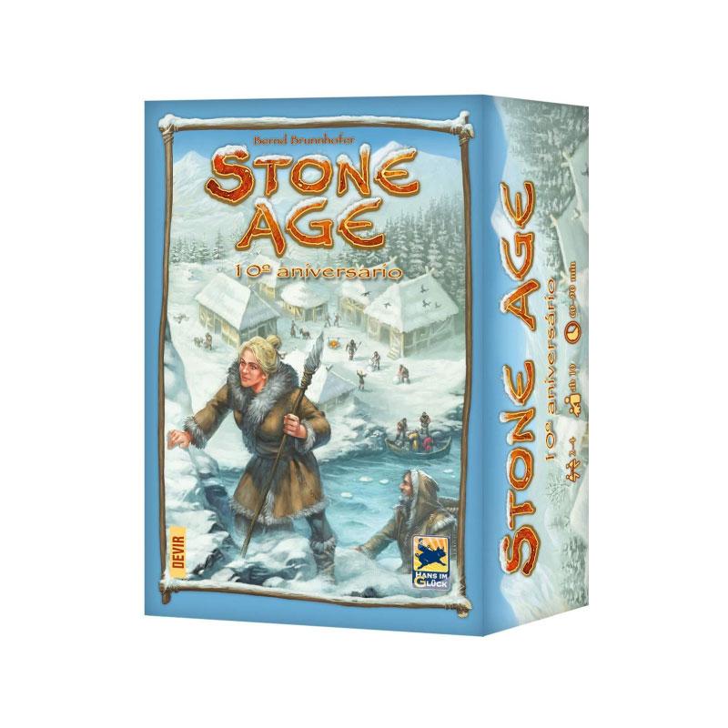 บอร์ดเกม Stone age 10th anniversary Board Game