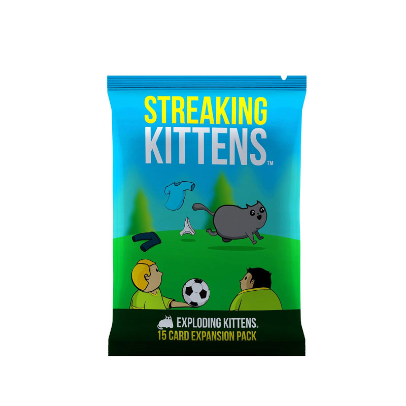 บอร์ดเกม Streaking kitten Pack Card