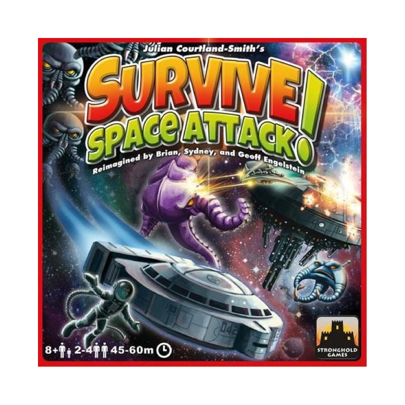 บอร์ดเกม Survive Space Attack Board Game