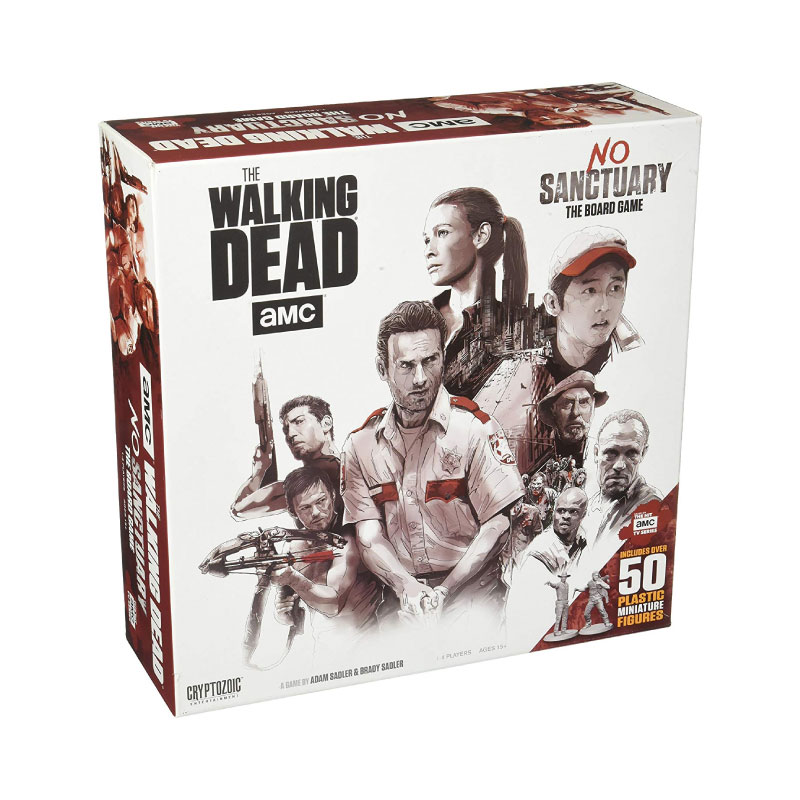 บอร์ดเกม The Walking Dead No Sanctuary Board Game