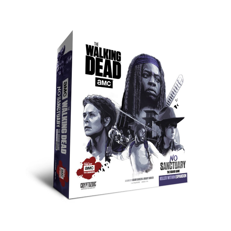 บอร์ดเกม The Walking Dead No Sanctuary Killer within Expantion Board Game